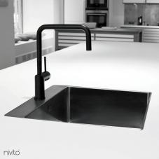 Llave Cocina Negro - Nivito 1-RH-320