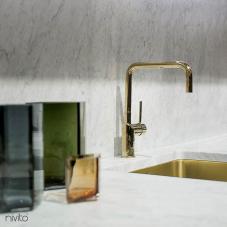 Llave Cocina Dorado/Oro/Latón - Nivito 1-RH-360