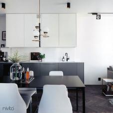 Llave Cocina Negro - Nivito 11-RH-320