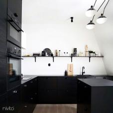 Llave Cocina Negro - Nivito 13-RH-320