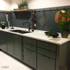 Llave Cocina Negro - Nivito 14-RH-320