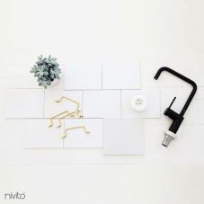 Llave Cocina Negro - Nivito 19-RH-320