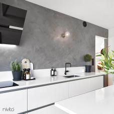 Llave Cocina Negro - Nivito 4-RH-320