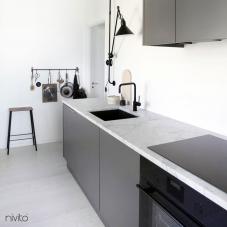 Llave Cocina Negro - Nivito 5-RH-320