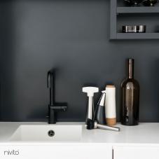 Llave Cocina Negro - Nivito 7-RH-320