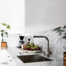 Llave Cocina Acero Inoxidable - Nivito 1-SP-300