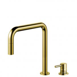 Grifo Cocina Dorado/Oro/Latón Tubo extraíble / Cuerpo y Tubo Separado - Nivito RH-340-VI