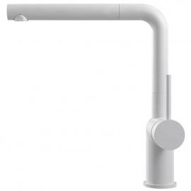 Grifo Cocina Blanco Tubo extraíble - Nivito RH-630-EX